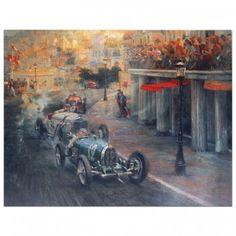 Bugatti Racing Green - Print by Alfredo de la Maria