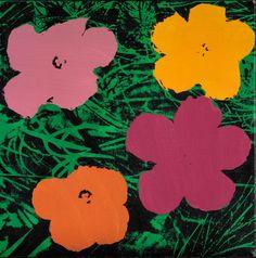 Elaine Sturtevant - Warhol Flowers