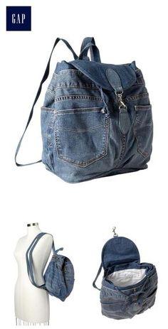 Best 12 Recycled 1969 denim backpack Más – Page 561894490999485909 – SkillOfKing. Denim Backpack, Denim Purse, Grunge Backpack, Denim Bag Patterns, Mochila Jeans, Sewing Jeans, Denim Handbags, Backpack Pattern, Denim Ideas