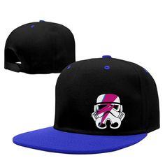 dc11e14e10a Amazon.com  Aladdin Sane Storm Trooper Face Men Adjustable Baseball  Snapback Cap RoyalBlue (6675373542972)  Books