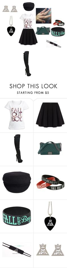 """Fall Out Boy Concert"" by laurie-egan on Polyvore featuring Polo Ralph Lauren, Chanel and Étoile Isabel Marant"