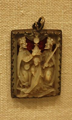 Pendant: Coronation of the VirginMade in Rhineland, Germany, 15th century MET