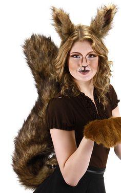 Oversized Squirrel Costume Accessories