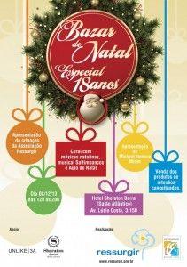 1x1.trans  ONG Ressurgir promove Bazar Natalino no Sheraton Barra