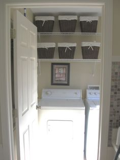 Very Small Laundry Room Ideas | in Small Laundry/ Mud Room, THIS IS OUR EXTREMELY SMALL LAUNDRY ROOM ...