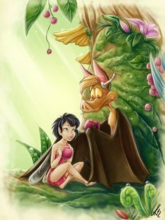 One beautiful morning in the Fern Gully by LordSiverius.deviantart.com on @deviantART
