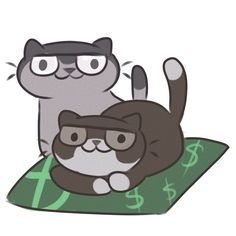Gravity falls>>>NEKO ATSUME CATICATURES