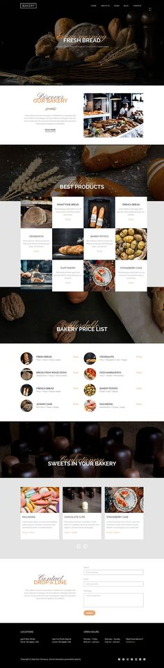 The Hot Bakery is a responsive Joomla! template for bakeries, restaurants, bars and similar websites. Joomla Templates, Bakeries, Hot, Restaurants, Ideas, Bakery Shops, Bakery, Restaurant, Thoughts