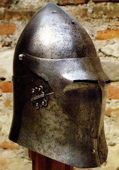 Yelmo con celada - Italia - C 1430
