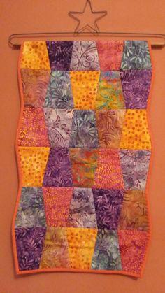 Miniquilt patchwork restos