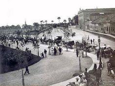 Inauguração do Campo de S. Cristovão 11/11/1906 Foto Augusto Malta