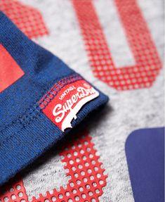 Superdry Track & Field Baseball T-Shirt - Men's T Shirts Sonic Blast, Superdry Mens, Tee Shirt Designs, Baseball T, Great T Shirts, Track And Field, Fabric Material, Tee Shirts, Branding