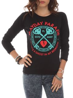 Mayday Parade Ghost Girls Pullover Top | Hot Topic on Wanelo