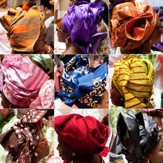Geles come in various textures and colors. Learn how to tie your gele for your special day www.mochabride.com #multicultural #favors #gifts