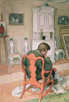 Carl Larsson (1859-1928): Esbjorn Convalescing