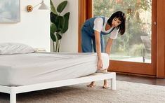 Sleep better in the award-winning Casper Original Mattress! Designed with layers of premium, breathable memory foam. Available in all-foam or hybrid in 6 sizes. Casper Bed, Casper Mattress, Best Mattress, Foam Mattress, Pillow Headboard, Bed Frame And Headboard, Upholstered Bed Frame, Memory Foam, Yurts