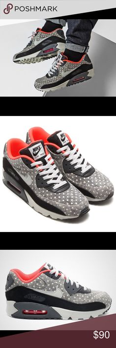 Nike AirMax 90 Polkadot. AirMax 90 Premium Polkadot, New with tags, used only for photoshoot indoors. Men's 7, women's 8.5 , super fly ! Nike Shoes Sneakers