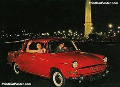 Skoda 1000 MB 1964 poster, #poster, #mousepad, #tshirt, #printcarposter