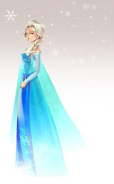 Elsa by Umintsu on deviantART