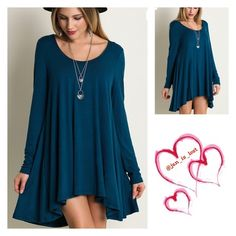 Tunic Large Sleeve Tunic *Pair with a belt or necklace not both! *Relaxed fit to compliment curves Material: Rayon Blend.   No Trades ✅ Offers Considered*✅ *Please use the blue 'offer' button to submit an offer. Tops Tunics