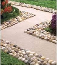 Ideas For Garden Borders Ideas Landscape Edging Paths Lawn Edging, Garden Edging, Garden Borders, Garden Paths, Lawn And Garden, Landscaping With Rocks, Front Yard Landscaping, Landscaping Design, Stone Edging