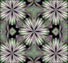 Irish Flower Swirl Fractal Cross Stitch Printable Needlework Pattern - DIY Crossstitch Chart, Relaxing Hobby, Instant Download PDF Design