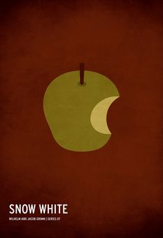 Minimalist fairy tale posters by Christian Jackson   I have to pin this artwork, because I keep telling everyone about it and having to dig through the interwebs to find it, again. :)