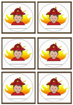 name tags Fireman Party, Firefighter Birthday, Fireman Sam, Fire Safety, Fire Engine, Firefighters, 2nd Birthday Parties, Preschool Crafts, Holidays And Events