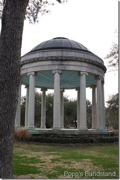 City Park New Orleans - Popp's Bandstand
