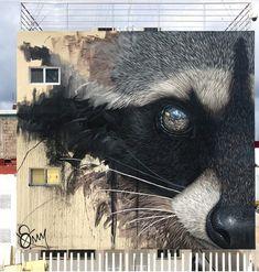 Repost from artist: Cozumel, Mexico art streetart contemporaryart mural artforall ut hyperrealism cozumel mexico graffiti Street Wall Art, Murals Street Art, Mural Art, Street Art Graffiti, Amazing Street Art, Amazing Art, Art Japonais, Outdoor Art, City Art