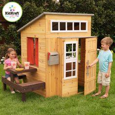 Modern Style Kids Outdoor Playhouse