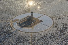 World's largest solar plant switches on in California   The Verge