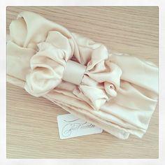 Wedding head scarf turban tsniout  - Daily Chic
