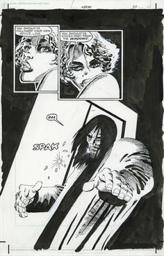 Miller, Sin City, Hell and Back, p 20 Comic Art