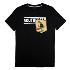 Camo Pocket Logo tee  http://www.southfresh.it/?p=products&id=40