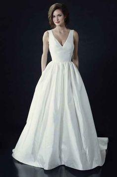 "Heidi Elnora ""Vivienne Beau"" Dress, price on request | 36 Elegant Minimalist Wedding Dresses"