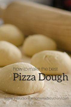 How to Make the Best Pizza Dough Hands down this is the very best pizza dough you'll ever make.for thick thin stuffed and deep dish crustslove it! The post How to Make the Best Pizza Dough appeared first on Rezepte. Best Pizza Dough Recipe, Dough Pizza, Pizza Dough Recipe Active Dry Yeast, Italian Pizza Dough Recipe, Best Calzone Dough Recipe, Pizza Dough Recipe All Purpose Flour, Chicago Pizza Dough Recipe, Homemade Pizza Recipe, Italian Calzone