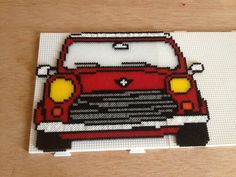 Mini cooper hama beads by Anna Mimó Font