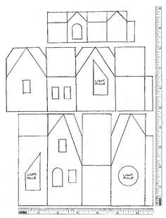 October: Glitter Houses Plans