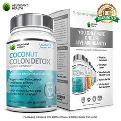 Colon-Detox-Cleanse-30-Day-Supply-60-Veggie-Capsules-to-Support-Detox-Weight-Loss-Increased-Energy-Levels. BEST WEIGHT LOSS + GENTLE DETOX – one hundred% NATURAL – No Synthetic flavors, colours or preservatives + Gluten Unfastened. http://topcoconutdeal.com