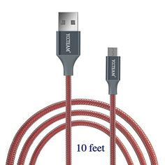 Extra Long 10ft  3m Controller Charging Cable For PS4 DualShock and Xbox One Controller Charger Cable with 1Year Replacement Warranty -- Visit the image link more details. Note:It is affiliate link to Amazon.