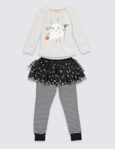 Pure Cotton Tutu Pyjamas (1-8 Years)