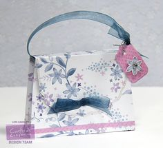 Crafter's Companion USA Information Blog : Butterfly Lullaby Purse Tutorial