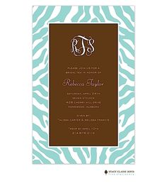 Birth Announcements, Photo Cards and Invitations from Zurianas Elegant Occasions