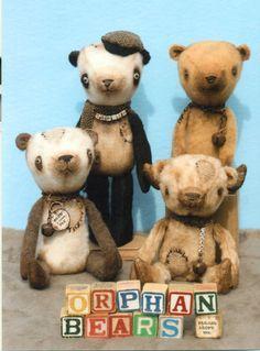 Orphan Teddy Bears