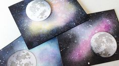 How to Create a Galaxy Background | Distress Ink Blending | To the Moon Stamp Set from Altenew | Amy's presentation was crisp and engaging. We loved her technique of creating a realistic galaxy. Very inspiring!