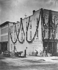F. Vandriele & Co. decorated for U.S. Centennial - 1876