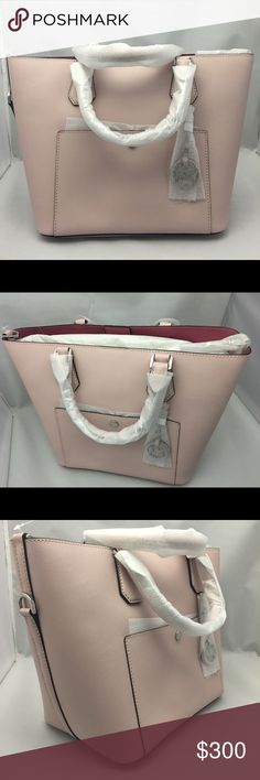 Authentic Michael Kors Purse Blush pink, can be shoulder &nd cross body bag. Bag comes with adjustable strap. Michael Kors Bags Shoulder Bags