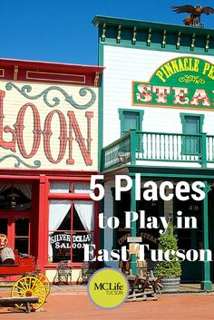 5 Places to Play in East Tucson