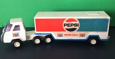 Vintage Buddy L Japan Metal Tractor Trailer Toy Pepsi Cola Cab Delivery Truck   Toys & Hobbies, Diecast & Toy Vehicles, Cars, Trucks & Vans   eBay!
